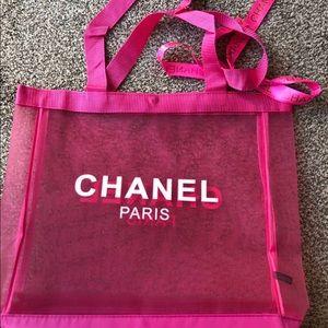New Chanel VIP Gift Beach/Shopping Bag